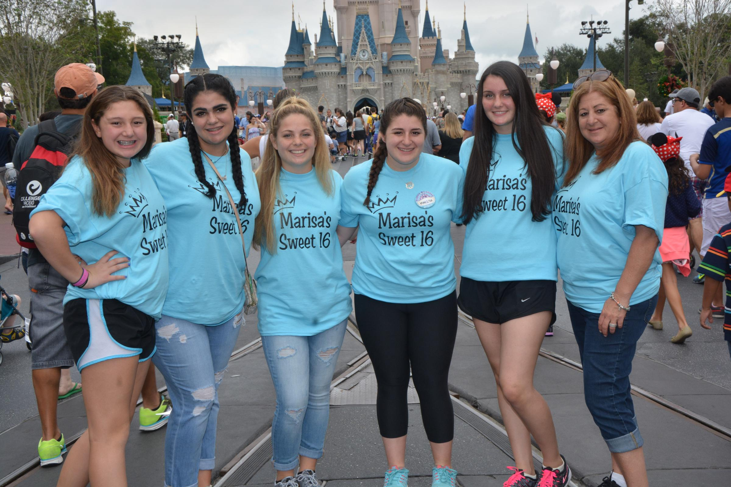 Custom T Shirts For Disney Sweet 16 Shirt Design Ideas