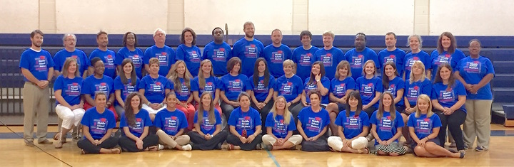 Middle School Matters At Haut Gap Middle School! T-Shirt Photo