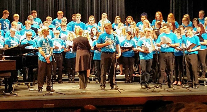 Northland Honor Choir 2015 T-Shirt Photo
