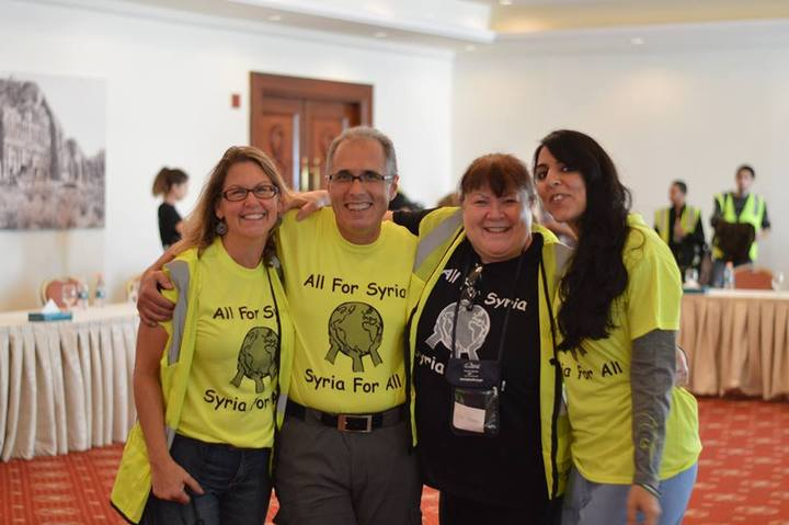 Ahr Board Members Group Hug! T-Shirt Photo