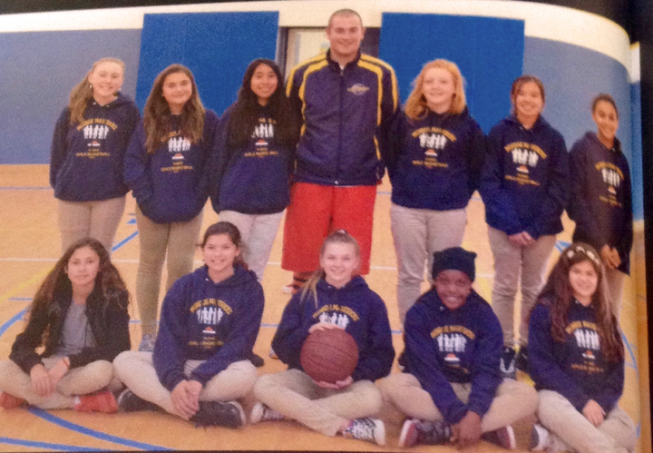7th Grade Girls Basketball    Go Monroe! T-Shirt Photo