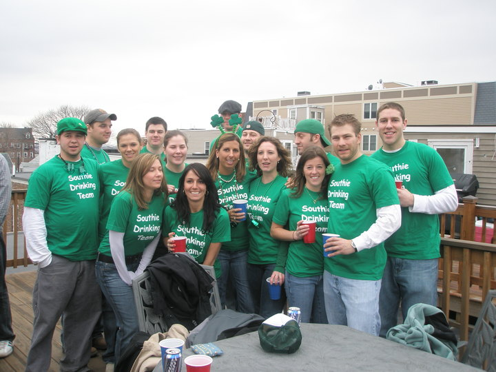 St. Patty's Day 2008 T-Shirt Photo