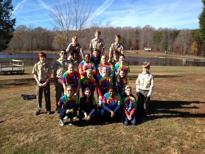 Girl Scouts And Boy Scouts Are Skillful!!! T-Shirt Photo