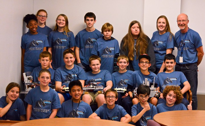 Mustang Robotics Team 2015 16 T-Shirt Photo