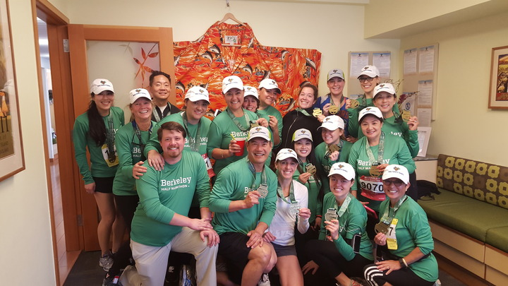 Team Aloha Berkeley Half Marathon T-Shirt Photo