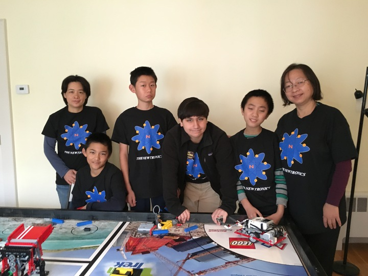 Newtronics Robotics Team T-Shirt Photo