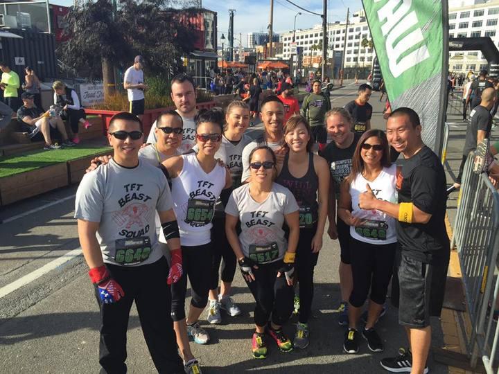 Tft Beast Squad Conquers The Men's Health Urbanathlon T-Shirt Photo