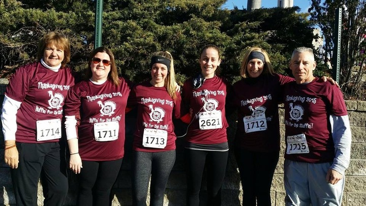Ri Family Turkey Trot T-Shirt Photo