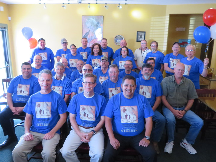 Tmisd Celebrates Veterans T-Shirt Photo