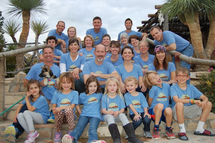 Big Bend Thanksgiving 2015 Crew! T-Shirt Photo