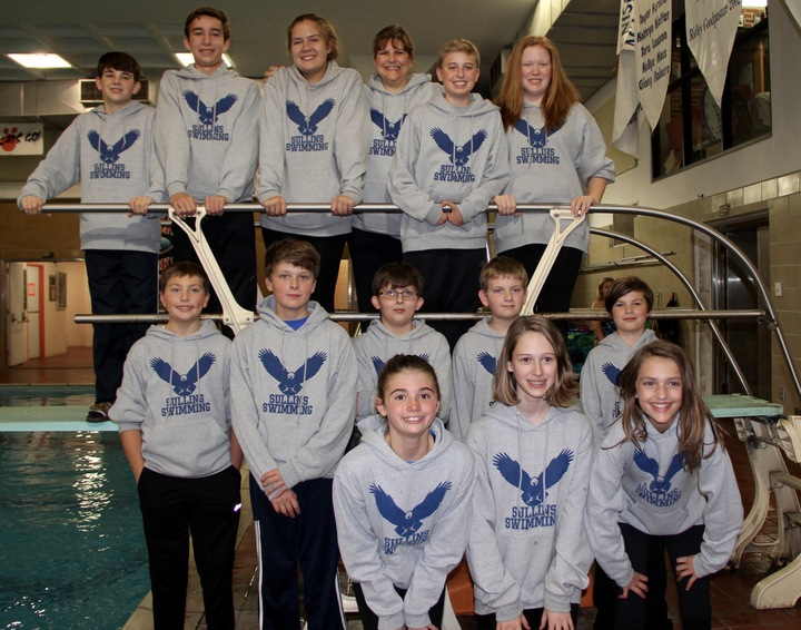 Sullins Academy Swimming Eagles T-Shirt Photo