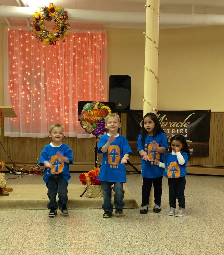 Kids Ministry Thanksgiving Song T-Shirt Photo