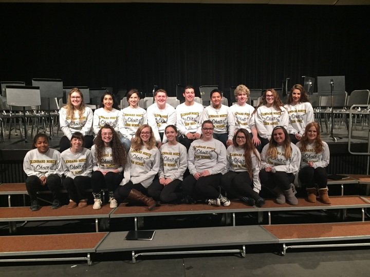 Glenbard North Choir  T-Shirt Photo