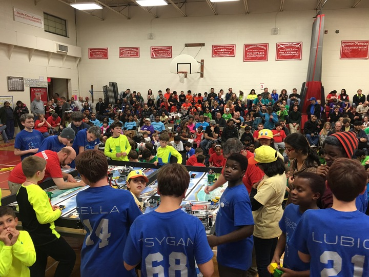 Evanston Robotics Teams Win T-Shirt Photo
