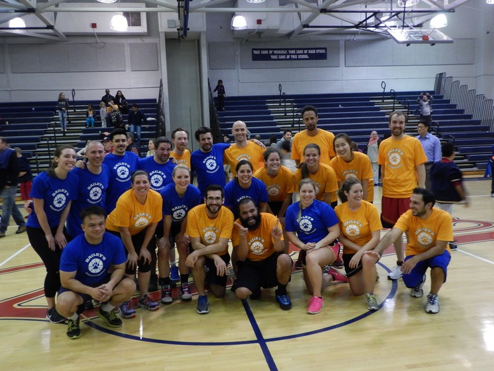 Parent Teacher Basketball Fundraiser T-Shirt Photo
