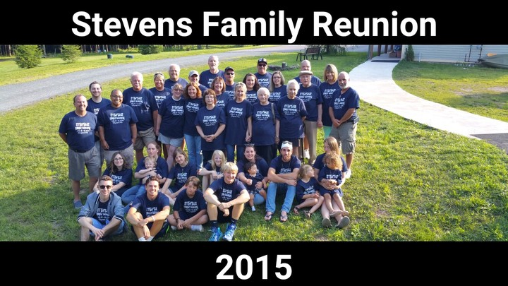 Stevens Family Reunion 2015 T-Shirt Photo