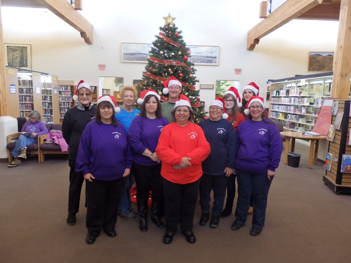 Merry Christmas From The Taos Public Library Staff T-Shirt Photo