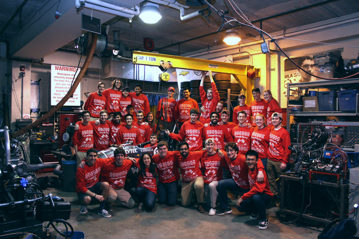 Happy Holidays From Cornell Racing T-Shirt Photo