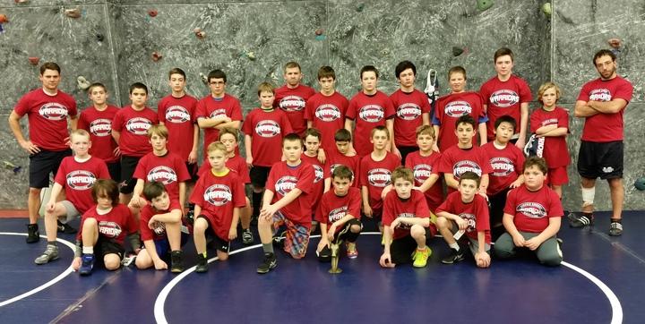 2015 16 Sudbury Youth Wrestling T-Shirt Photo
