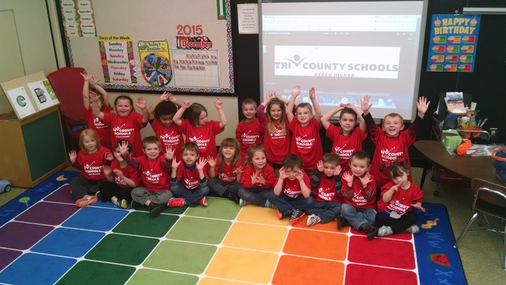 Mrs. Pearson's Class Loves Their Shirts!!! T-Shirt Photo