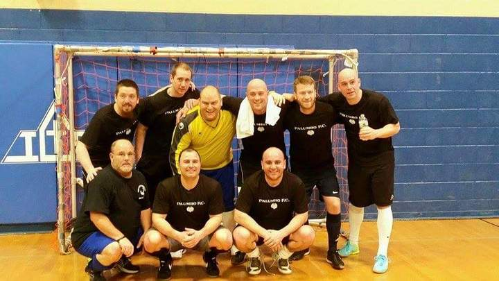 Men's Indoor Soccer Champs T-Shirt Photo