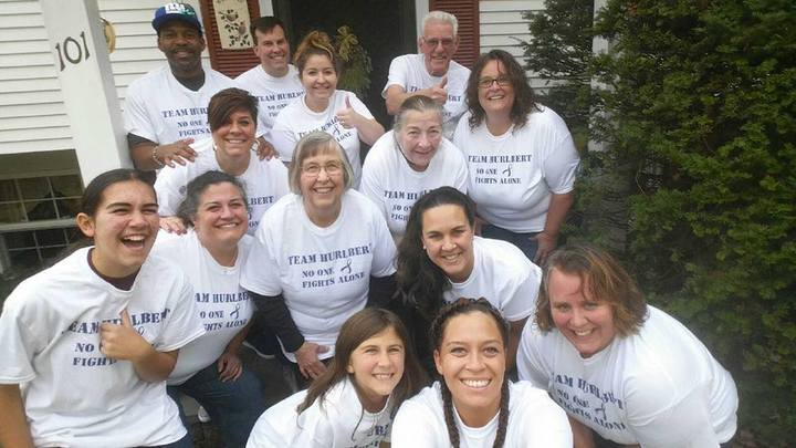 Team Hurlbert: No One Fights Alone T-Shirt Photo