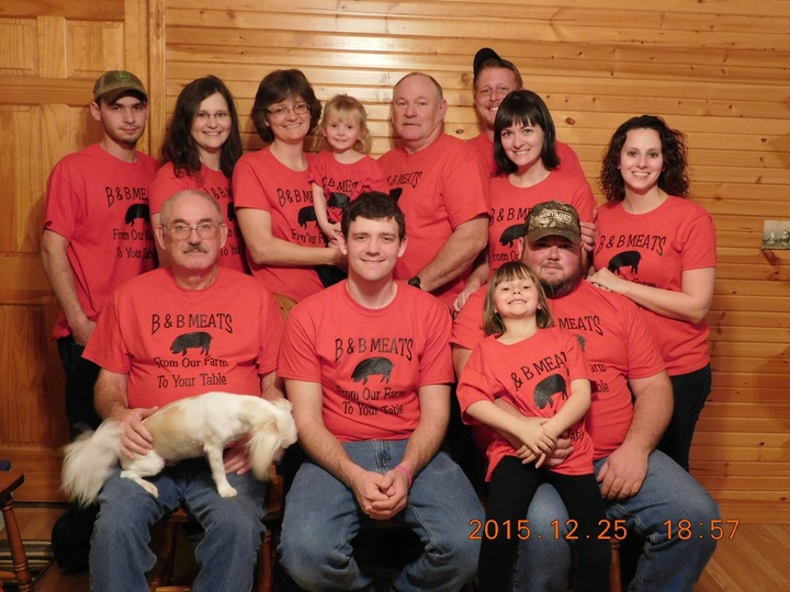 B & B Meats T-Shirt Photo