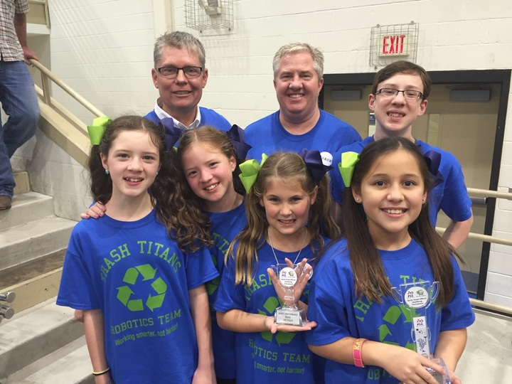 Trash Titans Rookie Robotics Team Wins 2nd Place T-Shirt Photo