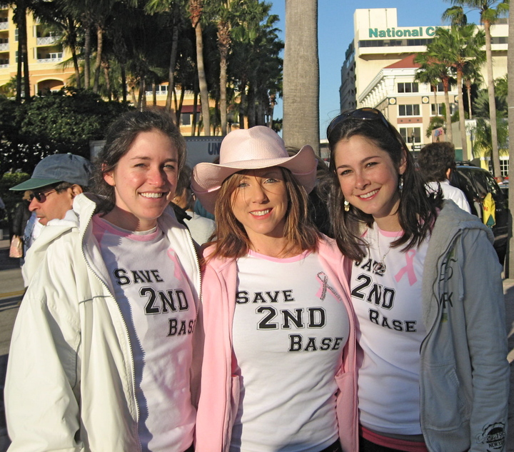 Race For The Cure 2009 T-Shirt Photo