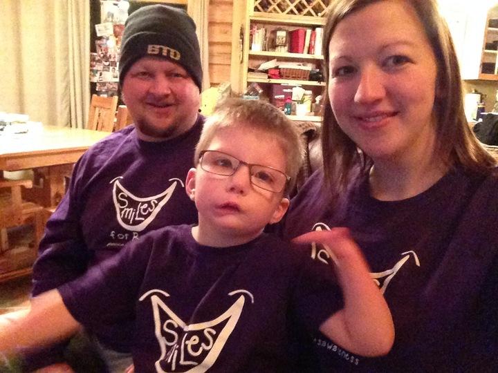 Smiles For Ryan! T-Shirt Photo