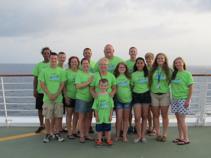 Family Reunion Cruise 2015 T-Shirt Photo