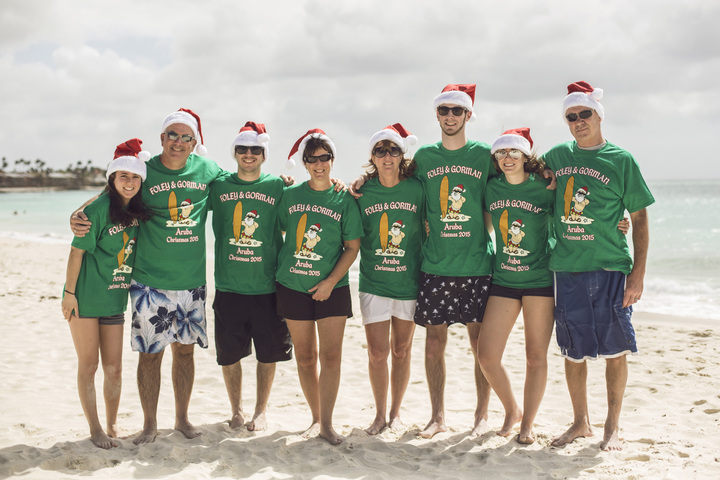 Aruba Christmas 2015 T-Shirt Photo
