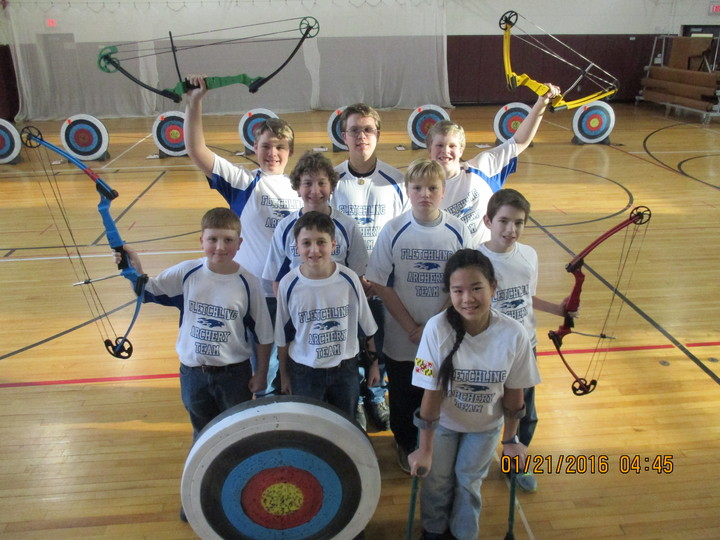 North Carroll Community School Archery Team  T-Shirt Photo