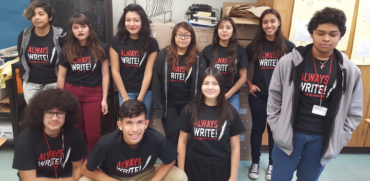 "Ap English Is ""Always Write!"" T-Shirt Photo"