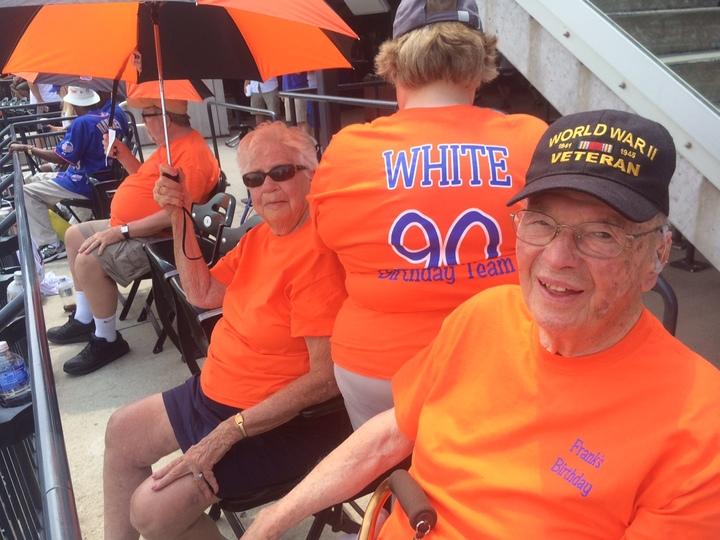 Frank's 90th Birthday T-Shirt Photo