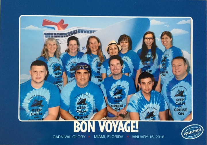 Family And Friends Fun Cruise 2016 T-Shirt Photo