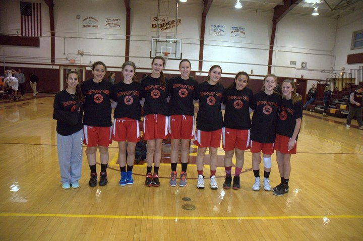 Whippany Park Girls Basketball Team T-Shirt Photo