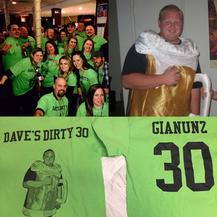 Daves Dirty 30 T-Shirt Photo