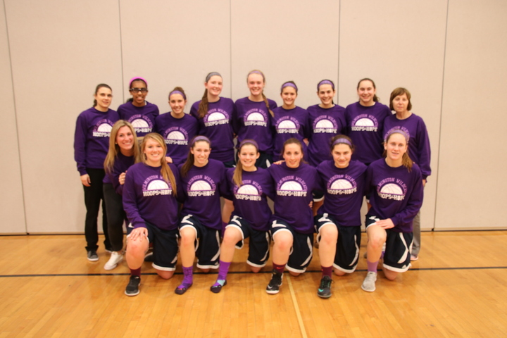 Hoops For Hope   Wilmington Wildcats  T-Shirt Photo