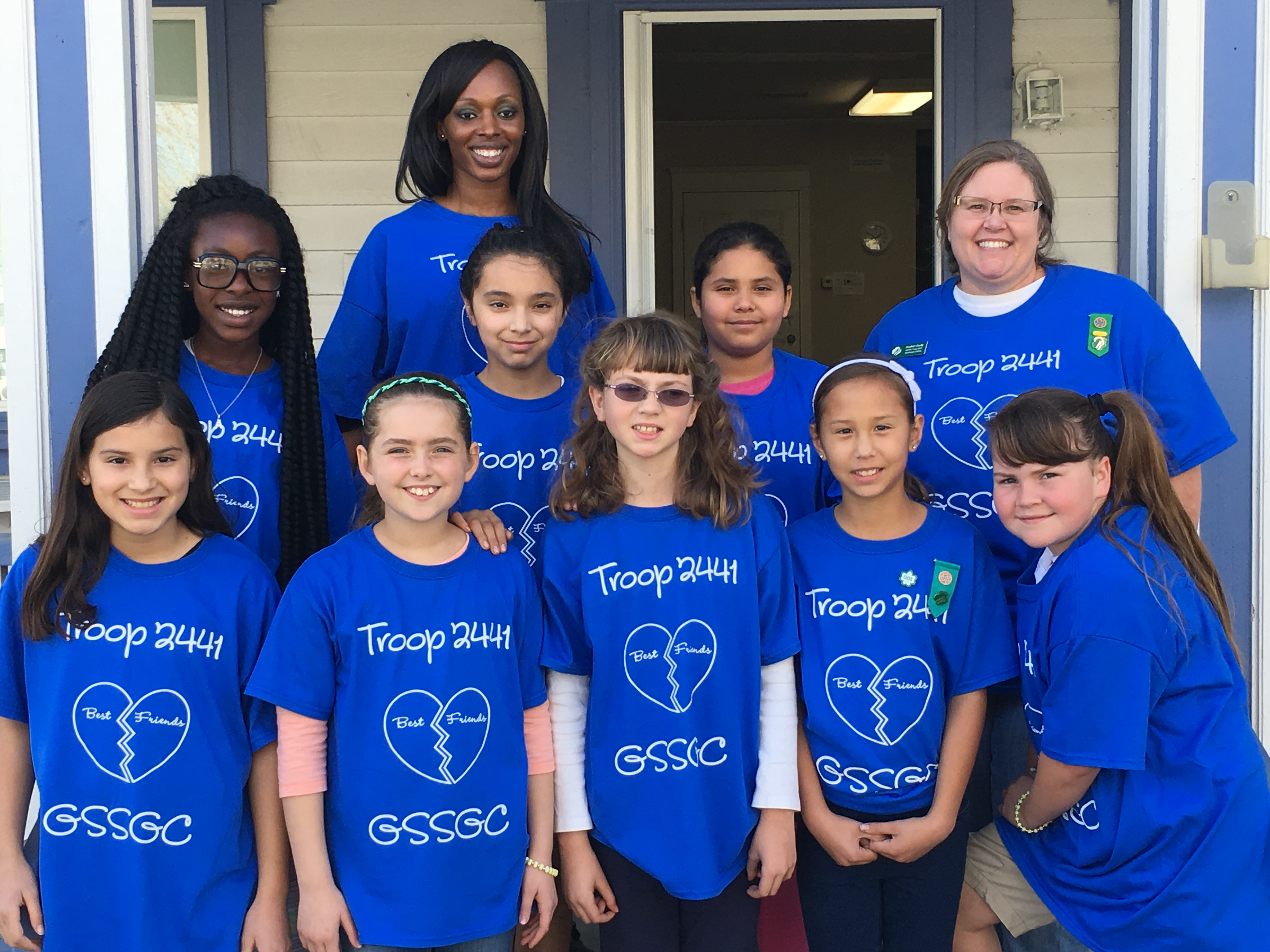 Design t shirt for group - Troop 2441 T Shirt Photo