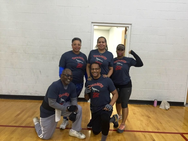 Morning Workout  Team T-Shirt Photo