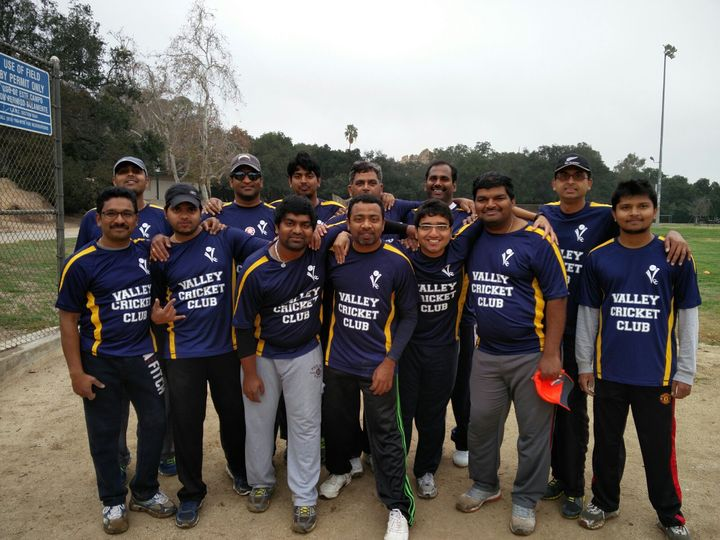 Valley Cricket Club   Los Angeles, Ca T-Shirt Photo