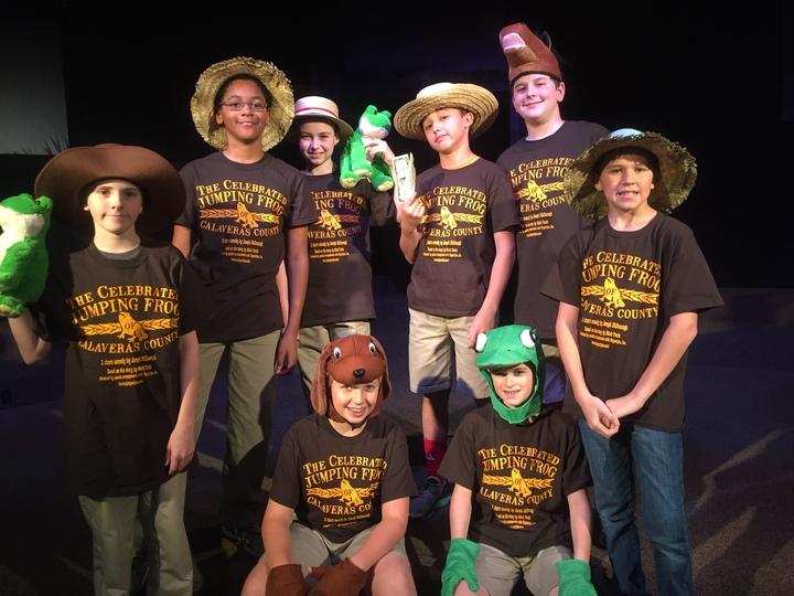 Jumping Frog @ Faith West Academy  T-Shirt Photo