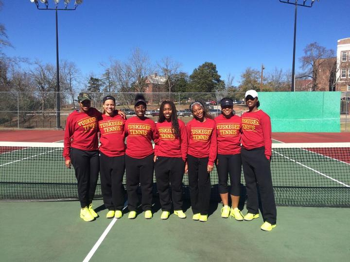 Tuskegee Tennis T-Shirt Photo