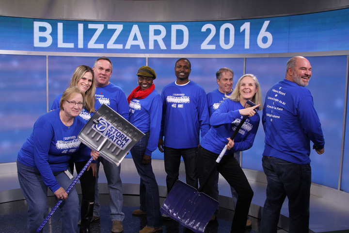 "We're Blown Away By Our ""I Survived Blizzard 2016"" T Shirts! T-Shirt Photo"