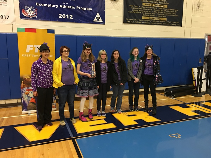 Ftc Team 7266 The Dragonettes Qualify For State Championships! T-Shirt Photo