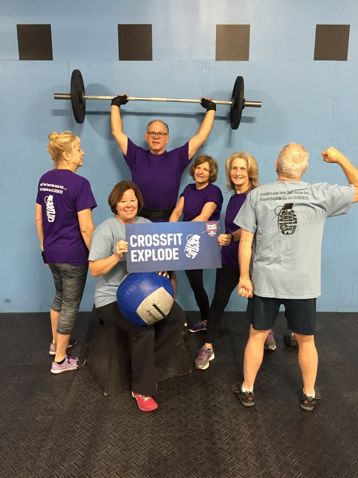 The Legends Of Crossfit Explode. West Chester, Pa T-Shirt Photo