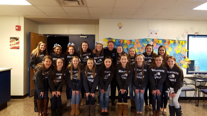Mms Cheer Gets Competition Ready T-Shirt Photo