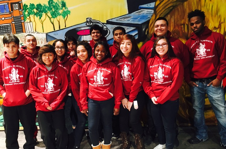 Sjhs   Academic Decathletes  T-Shirt Photo