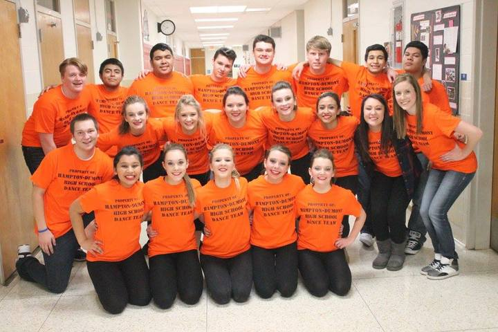 Hampton Dumont High School Co Ed Dance Team T-Shirt Photo